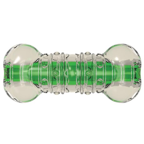 Petstages Crunchore Dog Chew Toy - Small in Clear/Green