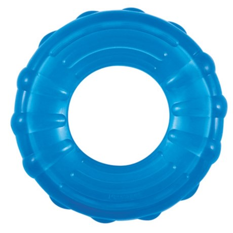 Petstages Orka Tire Chew Dog Toy in Blue
