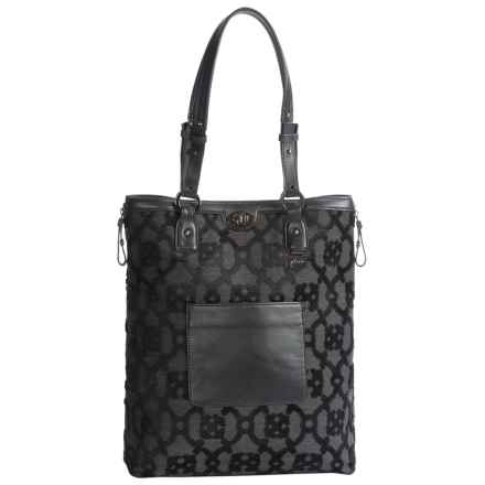 Petunia Pickle Bottom Troubadour Expandable Tote (For Women) in Nightshade - Closeouts