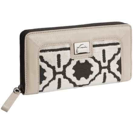 Petunia Waverly Wallet - Leather (For Women) in Fresco - Closeouts