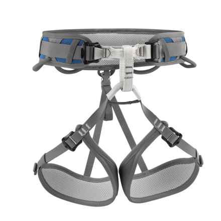 Petzl Corax Climbing Harness in Blue - Closeouts