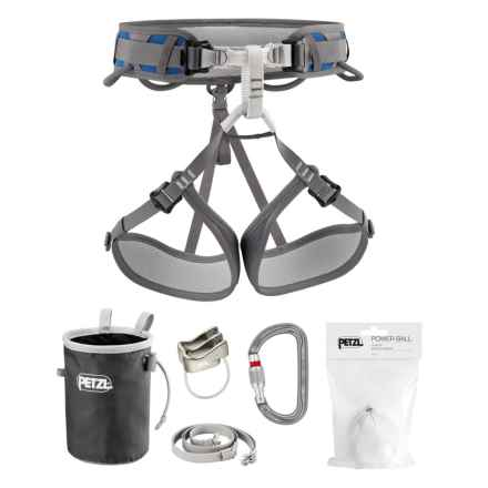 Petzl Corax Climbing Kit in Blue - Closeouts