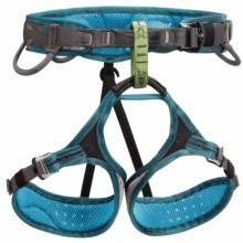 Petzl Luna Climbing Harness (For Women) in Turquoise - Closeouts