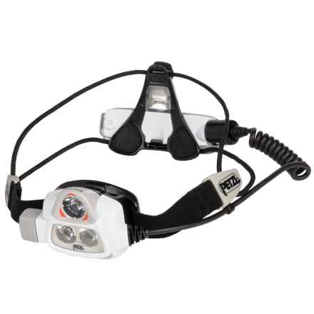 Petzl NAO 2 Headlamp - 575 Lumens in Grey - Closeouts