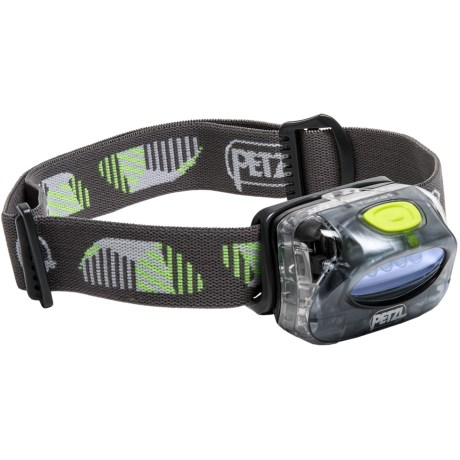 Petzl Tikka 2 Core Headlamp with Charger in Grey/Green