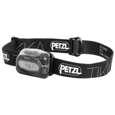 Petzl Tikka® Classic LED Headlamp - 100 Lumens in Black - Closeouts