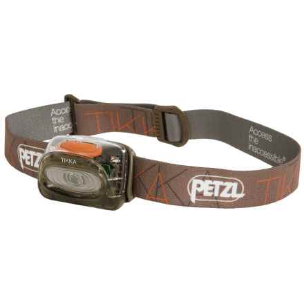 Petzl Tikka® Classic LED Headlamp - 100 Lumens in Brown - Closeouts
