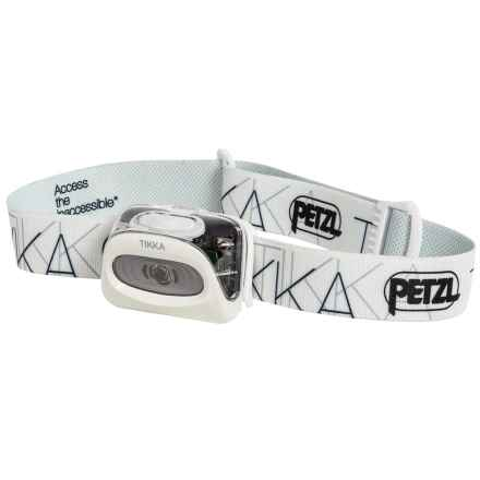 Petzl Tikka® Classic LED Headlamp - 100 Lumens in White - Closeouts