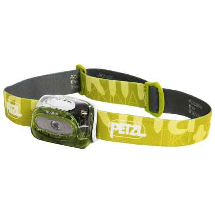 Petzl Tikkina® Headlamp - 80 Lumens in Green - Closeouts
