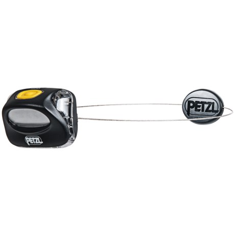 Petzl Zipka LED Headlamp in Black/Yellow