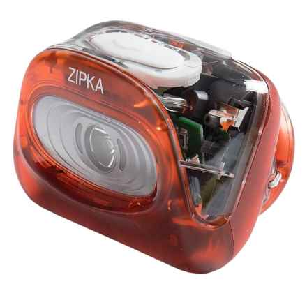 Petzl Zipka® Ultra-Compact LED Headlamp - 100 Lumens in Red - Closeouts