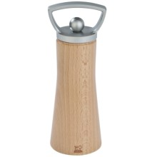 "Peugeot Ales Zamak Salt or Pepper Mill - 6"" in Natural - Closeouts"