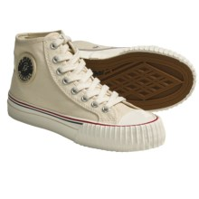 PF-Flyers Center Hi Reissue High-Top Sneakers - Canvas (For Youth) in Tan/Canvas - Closeouts