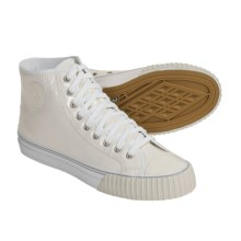PF-Flyers Center High-Top Sneakers - Reissue (For Men and Women) in White - Closeouts