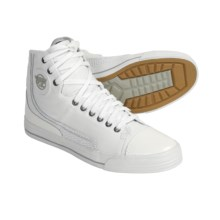 PF-Flyers Glide Sneakers - Leather (For Men and Women) in White - Closeouts