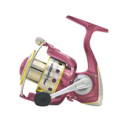 Pflueger Lady President Spinning Reel in See Photo - Closeouts