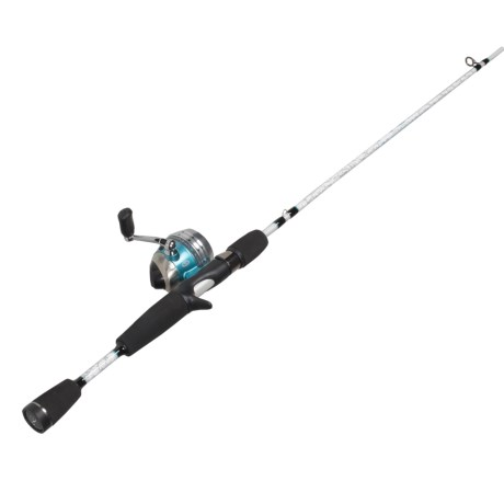 """Pflueger Lady Trion Rod and Reel Spincast Combo - 5'6"""", 2-Piece, Medium Light in See Photo"""