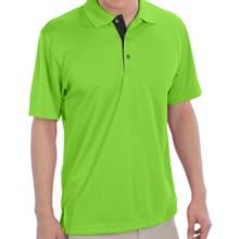 PGA Tour Polo Shirt - Short Sleeve (For Men) in Jasmine Green - Closeouts