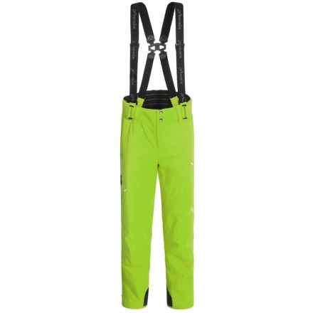 Phenix 2015 Lyse Salopette Ski Pants  - Waterproof, Insulated (For Men) in Yellow Green - Closeouts