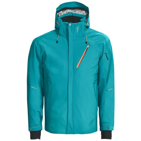 Phenix Airfraim PrimaLoft® Jacket - Waterproof (For Men) in Turquoise/Red