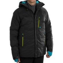 Phenix Black Powder Double Down Ski Jacket - 600 Fill Power (For Men) in Black - Closeouts