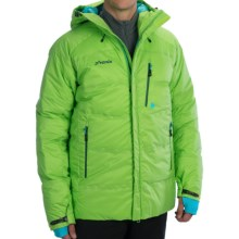 Phenix Black Powder Double Down Ski Jacket - 600 Fill Power (For Men) in Yellow Green - Closeouts