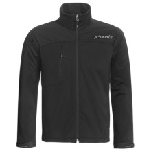 Phenix Essential Jacket - Soft Shell (For Men) in Black - Closeouts