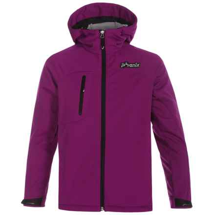 Phenix Essential Jr. Soft Shell Jacket - Waterproof (For Big Kids) in Purple - Closeouts