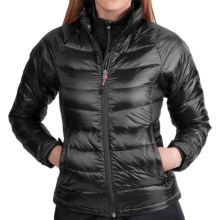 Phenix Fluffy Down Jacket - 800 Fill Power (For Women) in Black - Closeouts