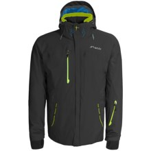 Phenix Hardanger Jacket - Waterproof, Insulated (For Men) in Black/Yellow Green - Closeouts