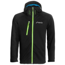 Phenix Hardanger Jacket - Waterproof, Soft Shell (For Men) in Black - Closeouts