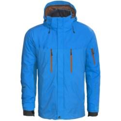Phenix Horizon Ski Jacket - Waterproof, Insulated (For Men) in Black/Green
