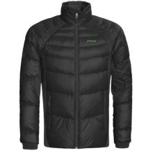 Phenix Hybrid Fluffy Down Jacket - 800 Fill Power (For Men) in Black - Closeouts