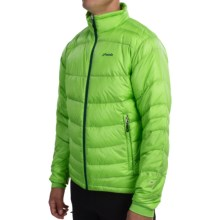 Phenix Hybrid Fluffy Down Jacket (For Men) in Yellow Green - Closeouts