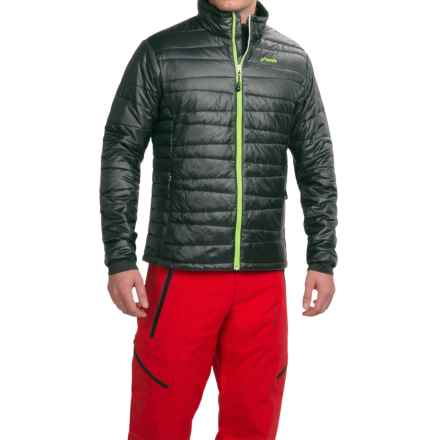 Phenix Hybrid Fluffy PrimaLoft® Jacket - Insulated (For Men) in Black - Closeouts