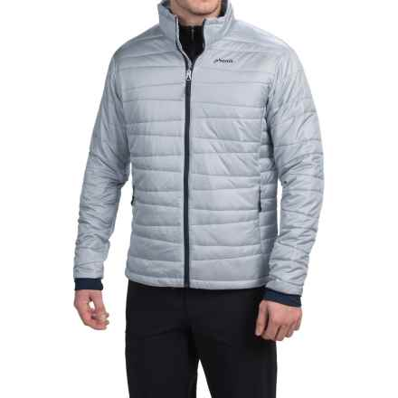 Phenix Hybrid Fluffy PrimaLoft® Jacket - Insulated (For Men) in Silver - Closeouts
