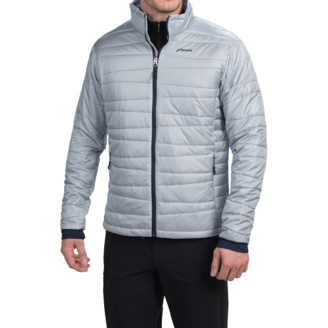 Phenix Hybrid Fluffy PrimaLoft® Jacket - Insulated (For Men) in Silver