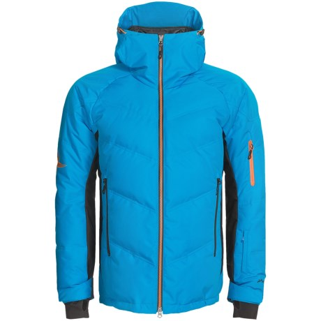 Phenix II Down Ski Jacket - 600 Fill Power (For Men) in Blue