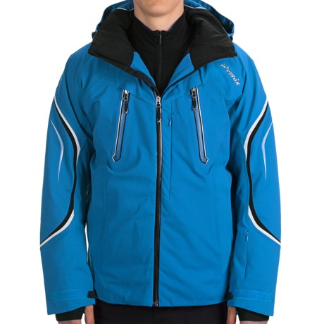 Phenix Lyse Jacket - Waterproof, Insulated (For Men) in Red
