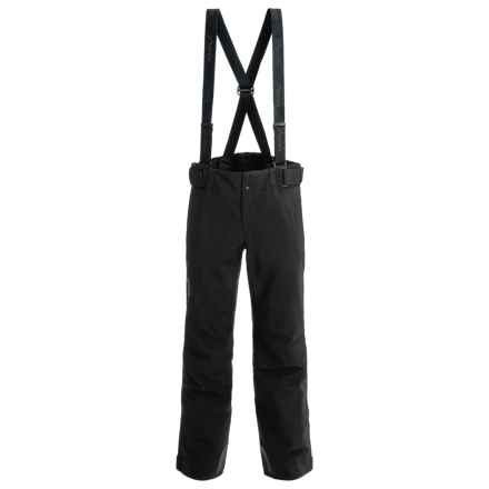 Phenix Matrix 3 Salopette Partial-Zip Ski Pants - Waterproof, Insulated (For Men and Big Men) in Black - Closeouts