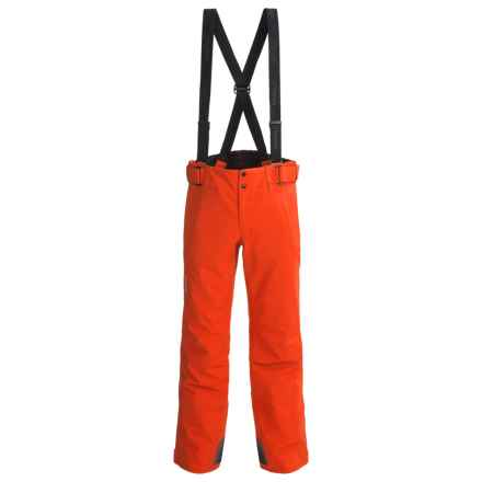 Phenix Matrix 3 Salopette Partial-Zip Ski Pants - Waterproof, Insulated (For Men and Big Men) in Orange - Closeouts