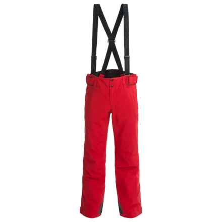 Phenix Matrix 3 Salopette Partial-Zip Ski Pants - Waterproof, Insulated (For Men and Big Men) in Red - Closeouts