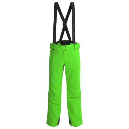 Phenix Matrix 3 Salopette Partial-Zip Ski Pants - Waterproof, Insulated (For Men and Big Men) in Yellow Green - Closeouts