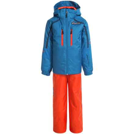 Phenix Norway Alpine Team Ski Jacket and Pants Set - Waterproof, Insulated, Blue-Orange (For Little and Big Boys) in Blue/Orange - Closeouts