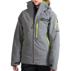 Phenix Norway Alpine Team Ski Jacket - Insulated (For Men) in Grey