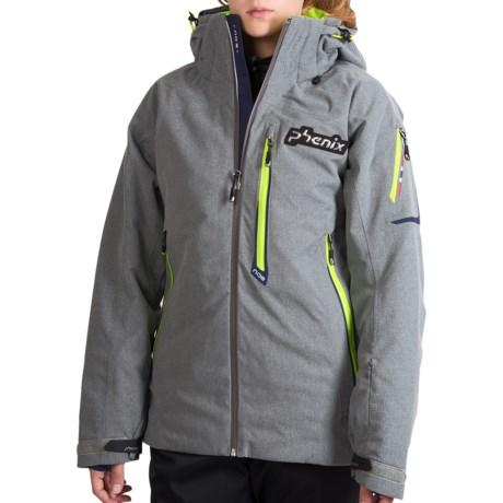 Phenix Norway Alpine Team Ski Jacket - Insulated (For Men) in Grey