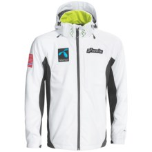 Phenix Norway World Cup Alpine Team Jacket - Soft Shell (For Men) in White - Closeouts