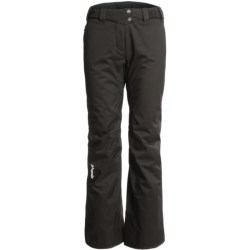 Phenix Orca Waist Pants - Insulated (For Women) in Black