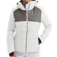 Phenix Orchid Down Ski Jacket - Waterproof (For Women) in White/Grey - Closeouts