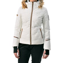 Phenix Rose Down Ski Jacket - Waterproof (For Women) in White - Closeouts